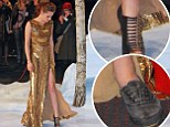 kristen stewart shoes puff