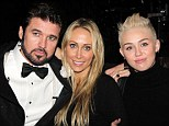 Be still his achy breaky heart: Miley Cyrus and her family visit father Billy Ray on the set of the Broadway production of Chicago
