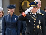 Prince Albert II and Princess Charlene