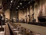 As soon as you step foot inside the magical Great Hall it becomes clear where every single penny was spent in the blockbuster movies
