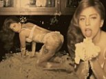 Lady Gaga makes one big mess as she writhes around in buttercream for new Cake trailer