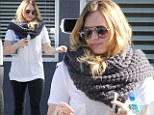 Trim for Thanksgiving! Hilary Duff's Pilates dedication pays off as she leaves yet another workout looking slimmed down