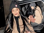 *EXC**ALL ROUND\nNicole Scherzinger goes late night shopping in London to new Supadry store inLondon's Regent Street\nByline must be used ISOIMAGES\n