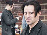 What's the buzz? Colin Farrell reveals much shorter haircut on the set of Winter's Tale