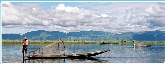 Inlay Lake View, Travel with Snowland to Inlay Lake Myanmar Beautiful (Burma)