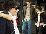 New Boy! New Girl star Zooey Deschanel spends the holidays in New York City with boyfriend Jamie Linden