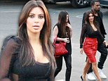 Kardashians invade the X Factor USA! Kim, Kanye and the whole clan rock up to watch Khloe host reality TV contest