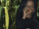 Rihanna downs shots before leaving late-night party with Chris Brown after spending Thanksgiving at his Berlin concert