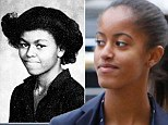 How Malia Obama is growing up just like her mother Michelle