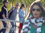 George Clooney and Cindy Crawford run off to Mexico together... (but take their partners with them)