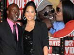 'We've been separated for some time': Kimora Lee Simmons confirms split from Djimon Hounsou after five years together