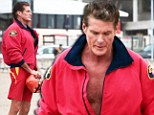 He's still got it! David Hasselhoff puts his muscular beach body back on show as he recreates Baywatch 11 years on