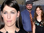 Split: Mayim Bialik, pictured at the LA premiere of Twilight Saga: Breaking Dawn Part 2 last week, has ended her marriage