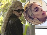 Dread-ful or top knot(ch)? Lady Gaga shows off new matted locks as she jets off to Peru on tour