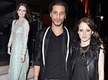 Mischa Barton goes East in exotic dress at phone case launch... as Made In Chelsea's Rosie steps out with mystery man