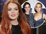 Candid: Lindsay Lohan, pictured at the LA premier of TV movie Liz & Dick on Tuesday, has opened up about her romance with Samantha Ronson