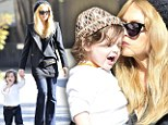 Mummy's boy: Super stylish Rachel Zoe can't get enough of her adorable son Skyler
