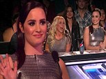 Emotions run high on The X Factor as Demi Lovato fights to hold back the tears... and Britney Spears messes up her lines