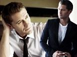 Looking sharp, Mr Shue! Glee star Matthew Morrison shows his stylish side as he models for Mr Porter