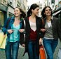 Bargain brigade: The most prominent type of Black Friday shopper is the teen or young woman, who will hit trend-led fashion chains as a social experience with a gang of her friends
