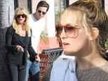Goldie Hawn is treated to a Thanksgiving lunch as she celebrates her 67th birthday in California