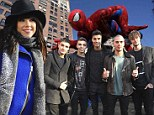 Glad You Came! British boyband The Wanted and Carly Rae Jepsen among the famous faces in the crowd at Macy's Parade