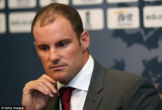 Showing the strain: Andrew Strauss announces his retirement from professional cricket