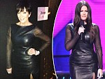 'B**** stole my look': Khloe Kardashian tweets backstage X Factor pic of mother Kris wearing her dress after 'raiding closet'