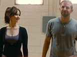 Odd couple: Jennifer Lawrence, left as Tiffany, and Bradley Cooper as Pat Solitano in Silver Linings Playbook