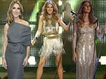 It's a hat-trick! Celine Dion sports three slinky outfits to Bambi Media Awards