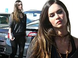 How does she do it! Megan Fox shows off her incredible post-baby figure in unforgiving leggings