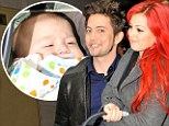 What a carry on! Twilight star Jackson Rathbone lets petite partner carry the baby in New York