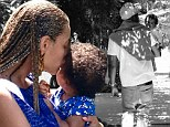 Beyoncé and Jay-Z share their thankfulness for gorgeous baby Blue