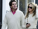 Crash victim: Elle Macpherson's ex-boyfriend, hotel heir Jeffrey Soffer, pictured left in 2009, was among five people involved in a deadly helicopter crash in the Bahamas