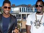 Live like a prince (of pop)! Beach front mansion rented by Diddy and Usher goes on the market for $17million
