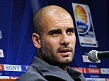 Target: Pep Guardiola is a target for the Brazilian Football Confederation