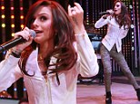 Taking America by storm! Cher Loyd continues Stateside success while performing at Hollywood concert