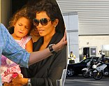 Now, Halle Berry gets police escort as she takes daughter Nahla to the theatre... 24 hours after fight between ex Gabriel Aubry and Olivier Martinez