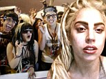 Naked Lady Gaga stumbles upon '35 fans hiding in her garage' after waking up for midnight feast