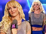 Top of the crops! Britney Spears shows off her fabulously flat stomach on X Factor USA