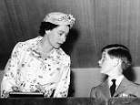 Duty bound: The Queen, with Charles in 1957, was unable to be as close to him as she wished