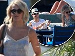 Jet set couple! Ryan Seacrest and Julianne touch down in Mexico for an amorous and sun-soaked weekend