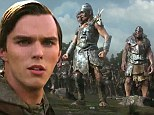No longer a boy! Nicholas Hoult displays macho skills in new trailer for Jack The Giant Killer