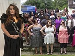 Larger than life beauty queens
