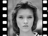 Photographs of a fourteen-year-old Kate Moss in her first sitting will are being auctioned today