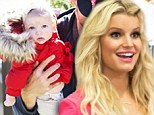 'I am so grateful for my new family!' Jessica Simpson celebrates Maxwell's first Turkey Day with cute Thanksgiving card