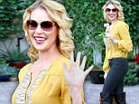 Birthday beauty! Katherine Heigl is radiant to celebrate turning 34 with her husband and mother