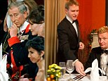 Charles' ex butler teaches Mos reporter some table etiquette