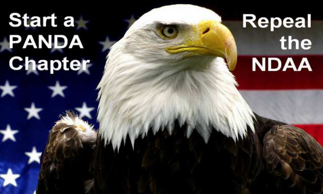 Start a PANDA Chapter - Repeal The NDAA