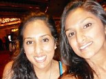 A family shopping trip turned to tragedy on Black Friday when sisters, Nisha Tandel, left, and Sheetal Tandel, right, were killed in a car crash